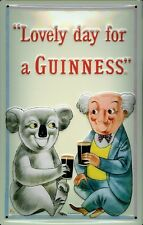Guinness Koala Metal Sign Signboard 3d Embossed Arched Metal Tin Sign 20 X 30 Cm