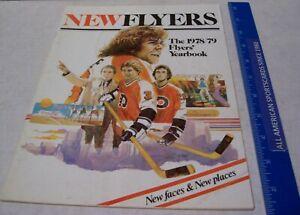1978-79 PHILADELPHIA FLYERS YEARBOOK EX/NM