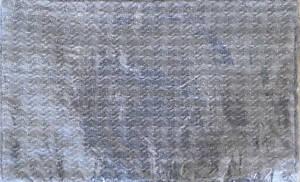"Pottery Barn Fenton Two Toned Lumbar Pillow Cover ~ 16"" x 26"" ~ Gray"