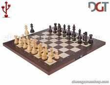 DGT USB Rosewood eBoard with Royal pieces - Electronic chess