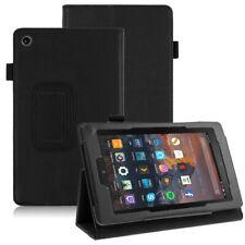 Amazon Kindle Fire HD 8 (2016 / 2017/ 2018) Schutzhülle Kunstleder Case -2N