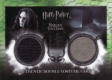 Harry Potter Heroes & Villains Death Eater & Azkaban Prisoner DC3 Costume Card