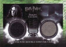 Harry Potter Heroes & Villains Death Eater & Azkaban Prisoner DC3 Costume Card