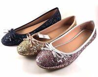 Platinum By Jade 12235 Wide Width Ballet Flats Choose Sz//Coor