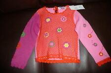 M 5 6 Patty crochet lace sweater nick nack patty wack NWT pink orange boutique