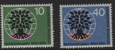 W Germany 1960 World Refugee Year SG 1240/1 MNH