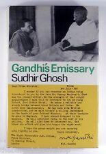 GANDHI'S EMISSARY Sudhir Ghosh (1967) - HARDBACK - 1st Edition