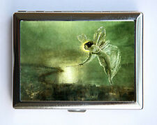 Fairy Cigarette Case id case Wallet Business Card Holder art nouveau hipster