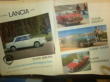 *ADVERTISING PUBBLICITA'  LANCIA FLAVIA - ZAGATO  - 1964 ALTRE DISPONIBILI ENTRA