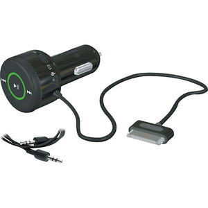 Griffin AutoPilot Control Car Charger Adapter with AUX Cable for iPhone NEW