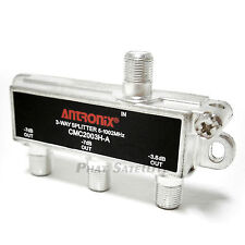 Antronix 3-way RG6 Splitter Coaxial Signal 3-output High Quality 1GHz 1002MHz