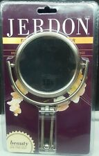 Jerdon Mc315N Travel Mirror Foldng/clam Card New Nickel Finish 3""