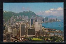 Hong Kong Vintage  Postcard: Victoria, Looking Down from East District Unposted