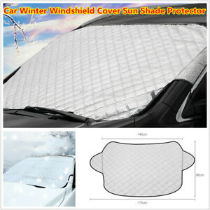 Winter Car Windshield Cover Sun Shade Protector Snow Ice Rain Dust Frost Proof