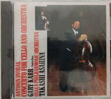 GARY KARR-DVORAK: CELLO CONCERTO CD MADE IN JAPAN K33Y 239 Mega Rare M/M