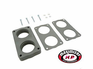 Maximizer Throttle Body Spacer Fits 2005 to 2007 F-250 F-350 Super Duty 6.8L