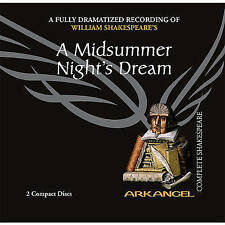 A Midsummer Night's Dream - William Shakespeare (CD-Audio Book, New) b3