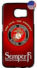 Marines USMC Semper Fi Case Cover For Samsung Galaxy S8 S9 Plus S7 Note 9 8 5