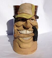 CARPENTER  FACE MUG in Handcrafted Stoneware