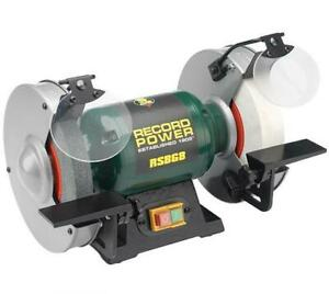 Record Power RSBG8 Bench Grinder 8-inch