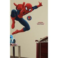 """53"""" GiantULTIMATE SPIDERMAN Wall Mural Decals Peel & Stick Boys Room Stickers"""