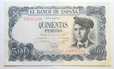 SPAIN: 500 Pesetas banknote since 1971 aVF Condition EL BANCO DE ESPANA L3587530