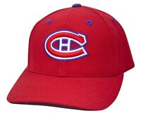 Montreal Canadiens PUMA Team Apparel NHL Team Logo Adjustable Hockey Cap Hat