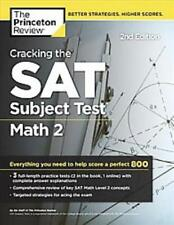 CRACKING THE SAT SUBJECT TEST IN MATH 2 - PRINCETON REVIEW (COR) - NEW PAPERBACK