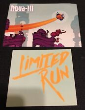Nova-111 Limited Run Games Post Card + Sticker - Rare Lot