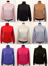Women's Cashmere Polo Neck Jumpers & Cardigans