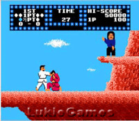 Karate Champ - Fun NES Nintendo Game