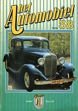1983 HET AUTOMOBIEL MAGAZIN 38 FIAT 130 DINO MINERVA NSU WANKEL SPIDER NORTON