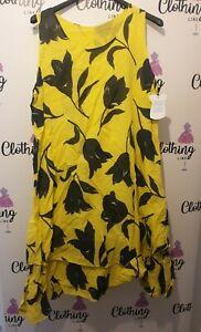 Italian Ladies Summer Dress Linen Cotton Sale Now On