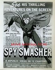 "Kane Richmond Spy Smasher 1940's Serial 8x10"" Photo From Original Negative L7671"
