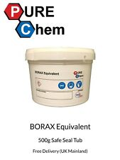 Borax Subsitute Equivalent  No Moisture 500g Tub -Cleaner, Water Softener, Slime