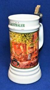 Vintage 1992 CLAUSTHALER Ceramic OKTOBERFEST Beer Stein #1326 LE no Lid