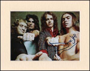 "Dave Hill Slade Original Hand Signed 10x8"" Mounted Autograph Photo & COA"