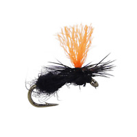 Guides Choice Sparkle Wing RS 2 Emerger IRON GREY Fly Fishing Flies Trout Flies