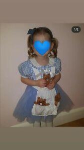 Girls halloween costumes Goldilocks dress age 2-3