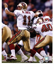 ALEX SMITH SF 49ers 8X10 Autographed Photo with BDS COA #1411