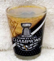 Pittsburgh Penguins 2017 NHL  Stanley Cup CHAMPS Champions Shot Glass