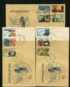 AUSTRALIAN ANTARCTIC TERRITORY.....  1966  First day cancel on 3 covers  28SE66
