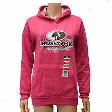 Mossy Oak Women's Performance Pullover Fleece Camouflage lined Hoodies Sm - XL