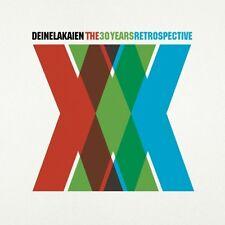 DEINE LAKAIEN - XXX.THE 30 YEARS RETROSPECTIVE  2 CD NEU