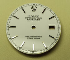 Rolex Dial Oyster Perpetual Datejust White OBS! NOT Perfect!