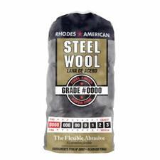 Homax 10120000 Steel Wool, 12 pad, Super Fine Grade #0000, Rhodes American, Fina