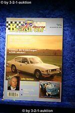 British Classic Sports Car Nr.7 1996 deutsch Triumph Stag TR3s