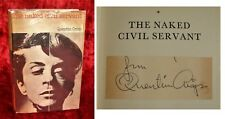 QUENTIN CRISP - HAND-SIGNED - THE NAKED CIVIL SERVANT - 1ST/1ST - 1968