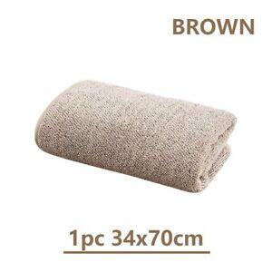 Bath Towel 70x140cm Bamboo Charcoal Coral Velvet Absorbent Microfiber Fabric