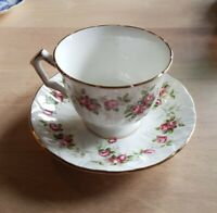 Aynsley Grotto Rose 185 Cup And Saucer